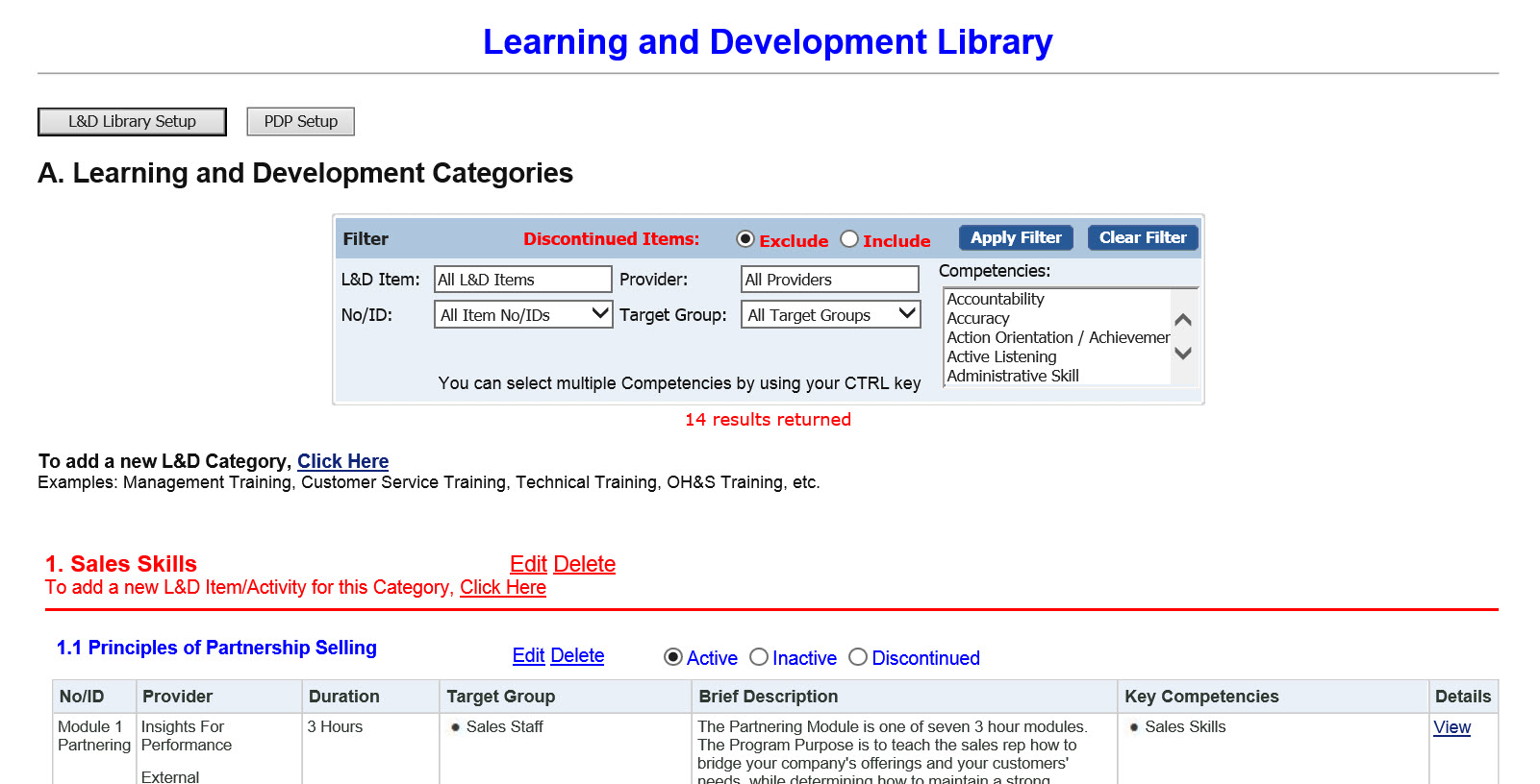 Learning library