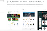 X-Cart screenshot: Graphic themes store right in the admin backend