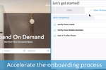 WalkMe screenshot: User Onboarding