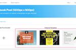 Snappa Screenshot: Snappa selecting templates