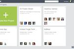 Captura de pantalla de zipBoard: zipBoard project management