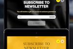 FreshMail screenshot: FreshForm - our mobile application for tablets