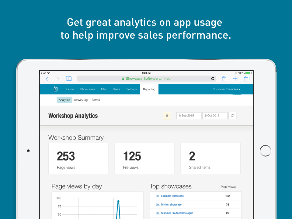 Gain insight into app usage with real time analytics