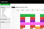 Captura de pantalla de Zen Planner: Stay organized with daily, weekly or monthly class schedules on a calendar that's color coded by class type