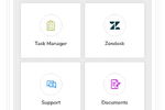 Groupe.io screenshot: Micro-Apps
