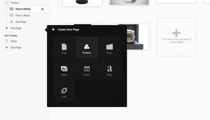 Squarespace Software - Create product page