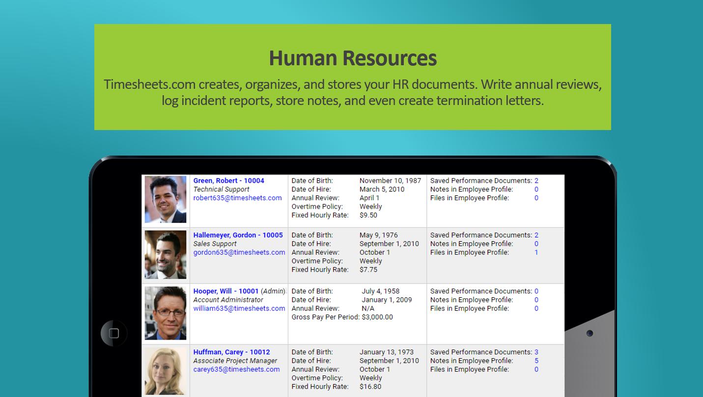 Timesheets.com Software - 5