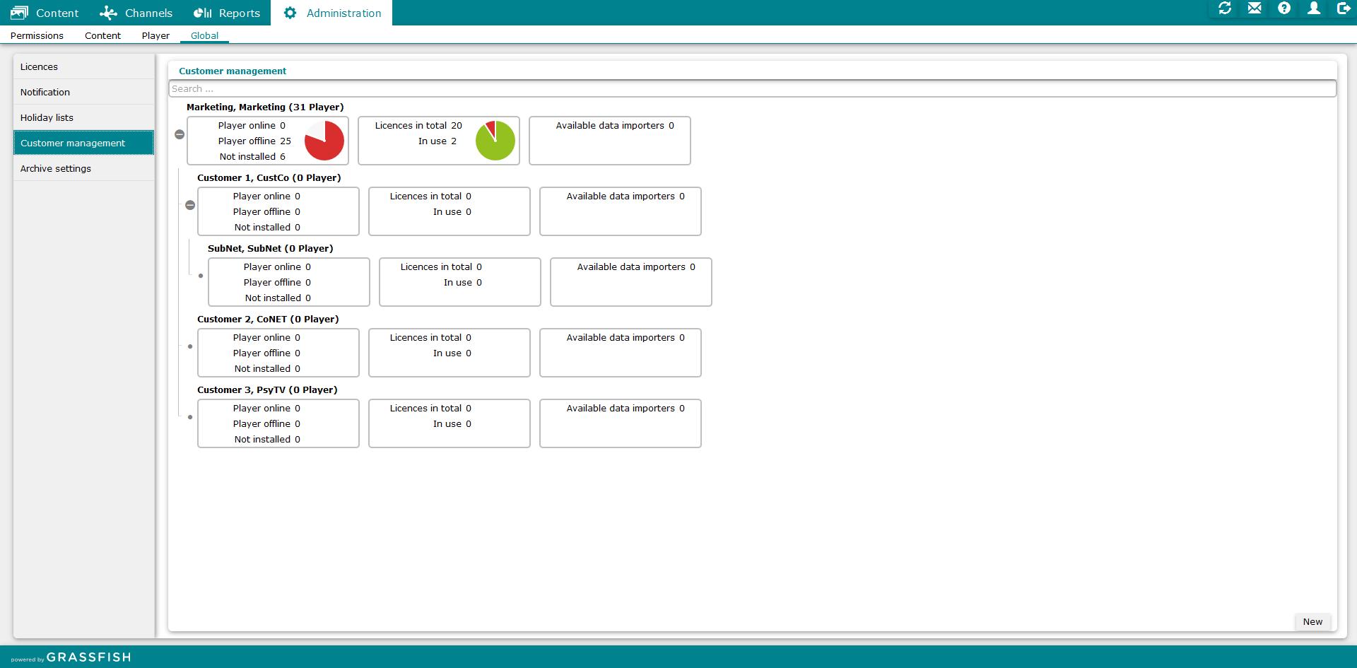 Digital Signage CMS Software - 1