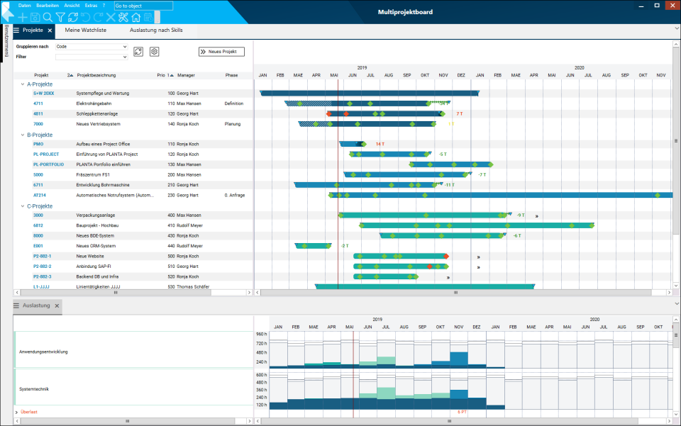 PLANTA Project Software - 1