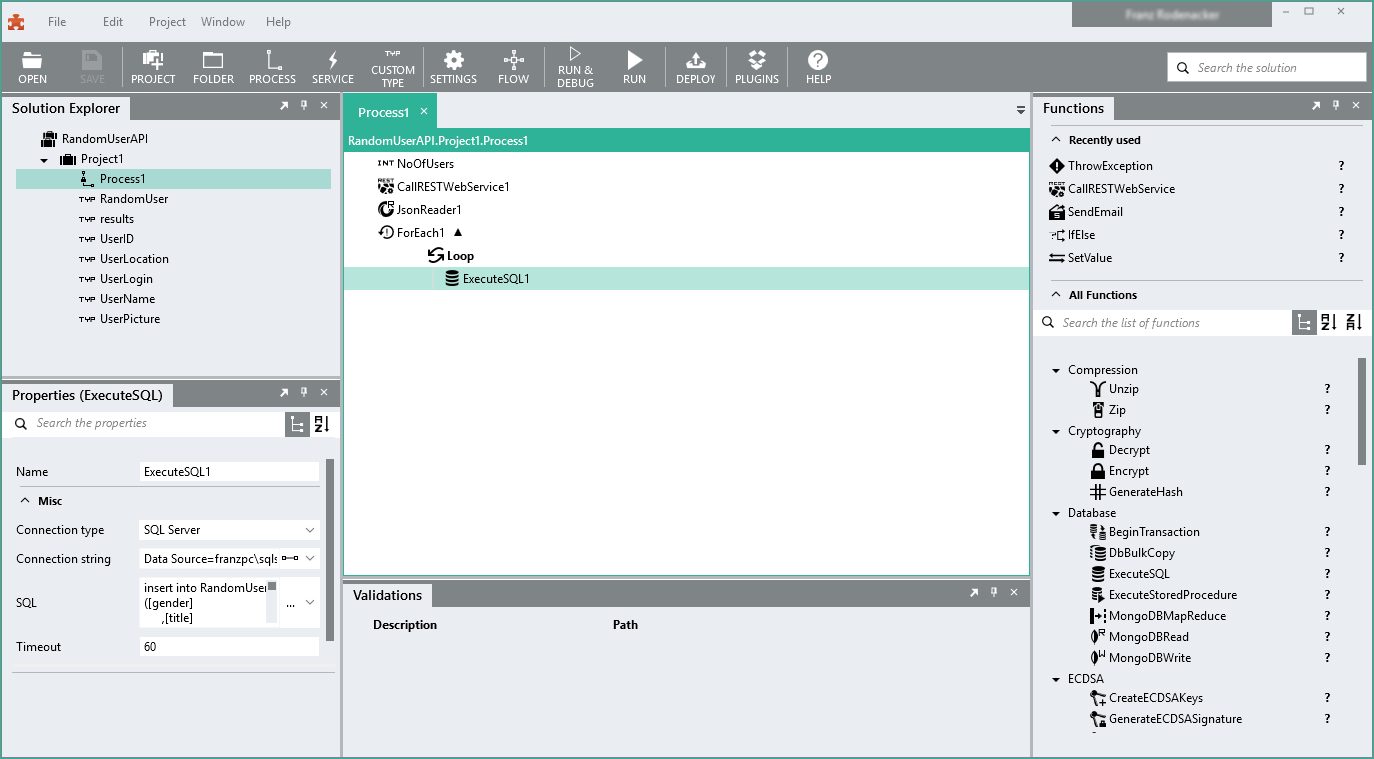 Linx Software - Functions