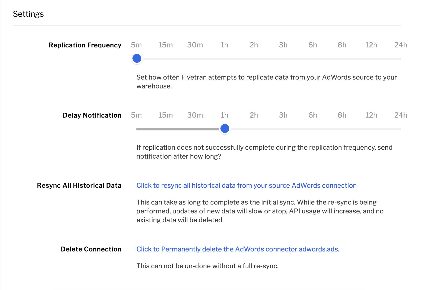 Data replication process