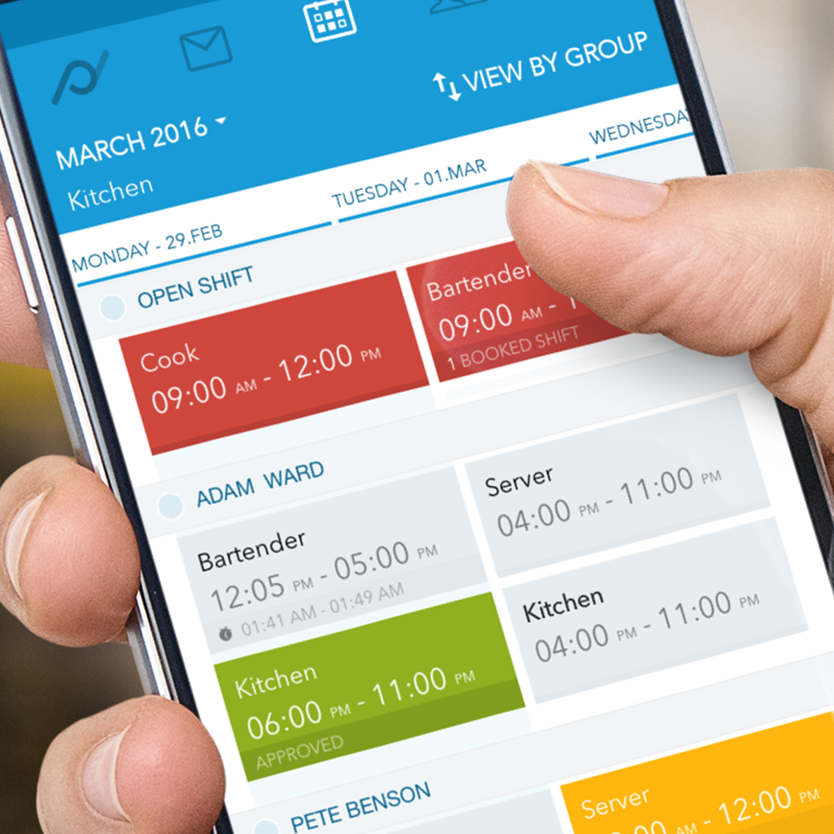 Planday Software - App: Easily edit & create new shifts