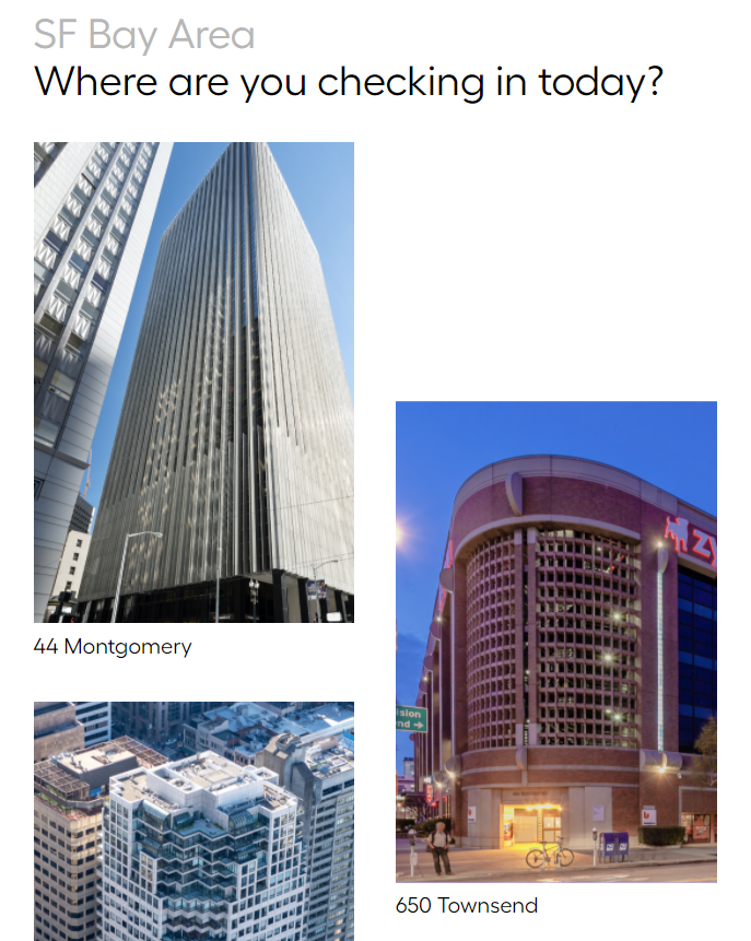 Allpass screenshot: Manage Multiple Office Locations