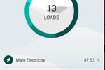 inavitas screenshot: Inavitas sub loads monitoring