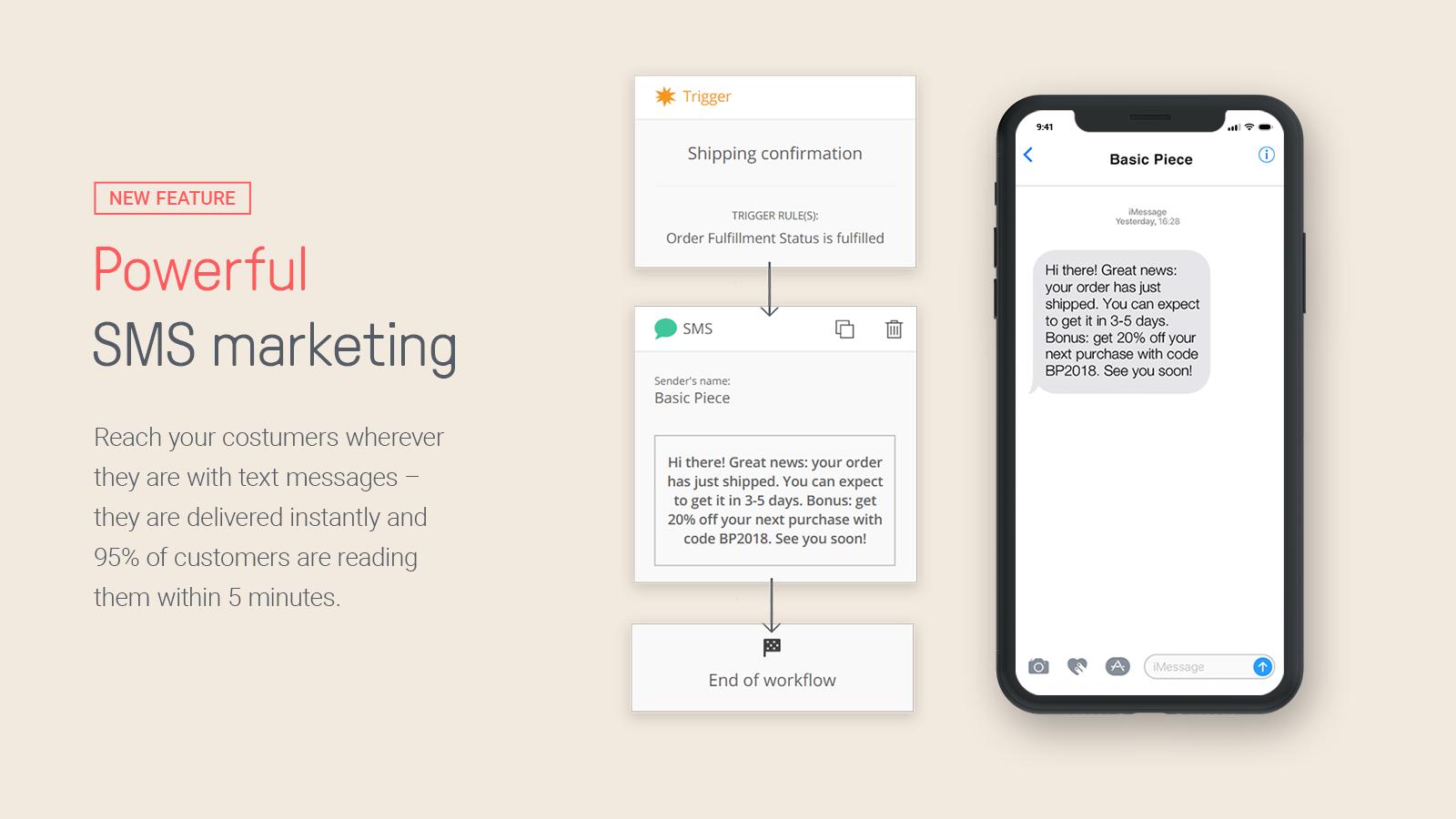 Omnisend SMS marketing