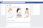 Nosto screenshot: Nosto works with Facebook to recover shopping carts.