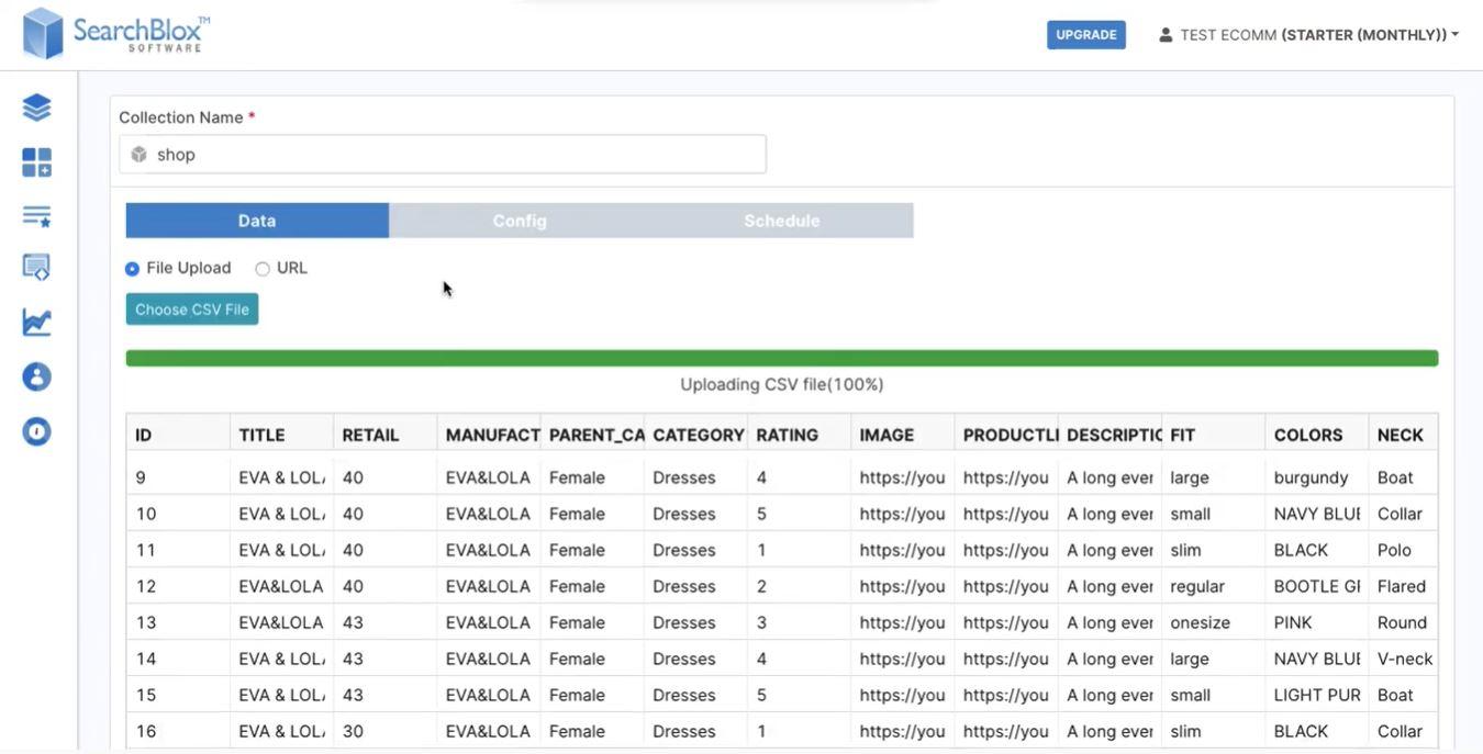 SearchBlox eCommerce search