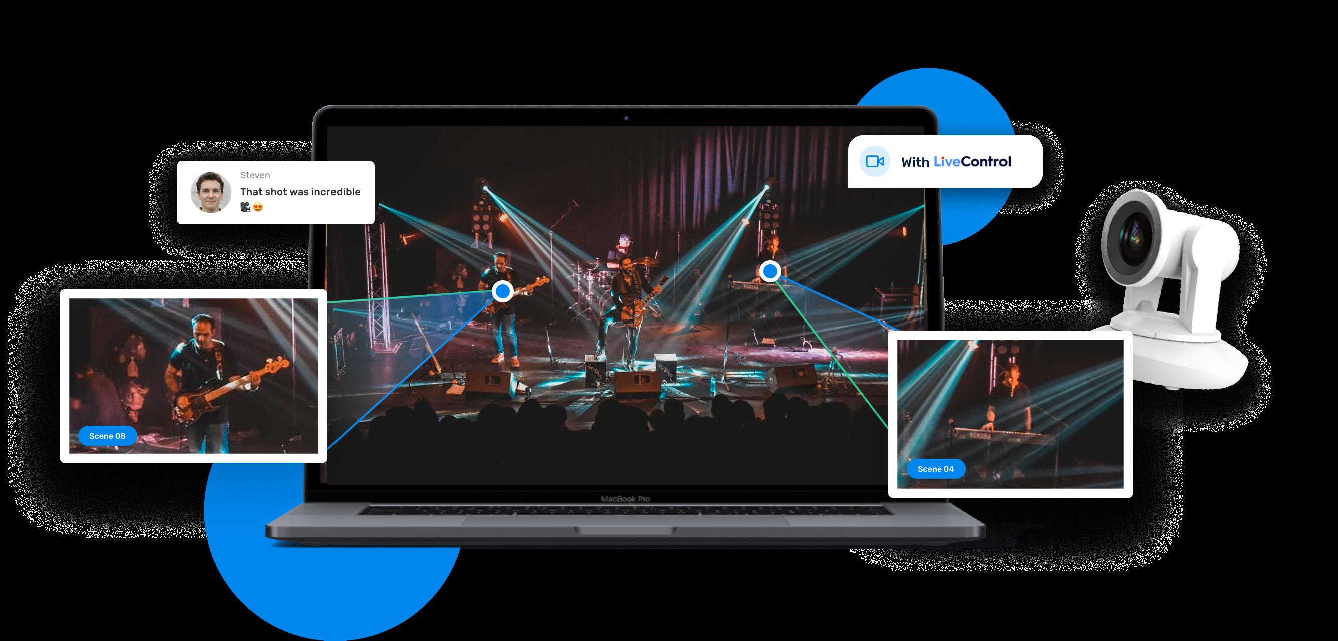 LiveControl Stream