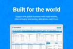 FinancialForce Accounting screenshot: Global accounting