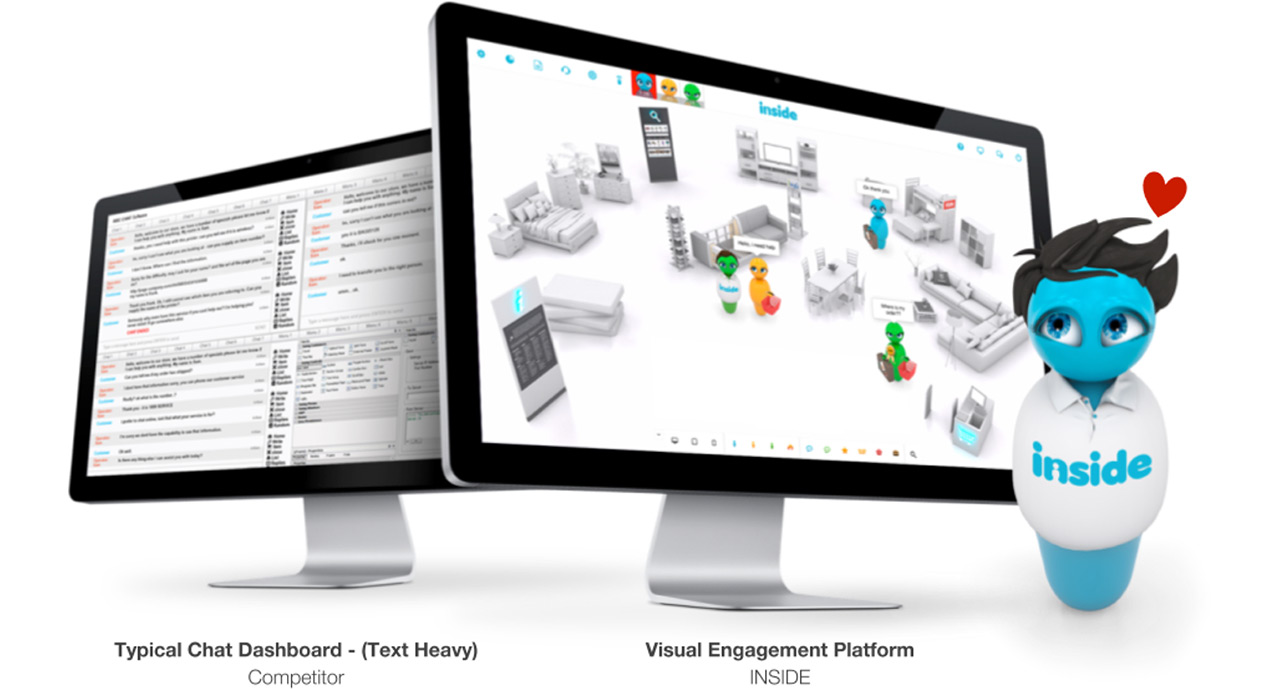 The INSIDE Visual Engagement Platform aims to make it easier for agents to digest information