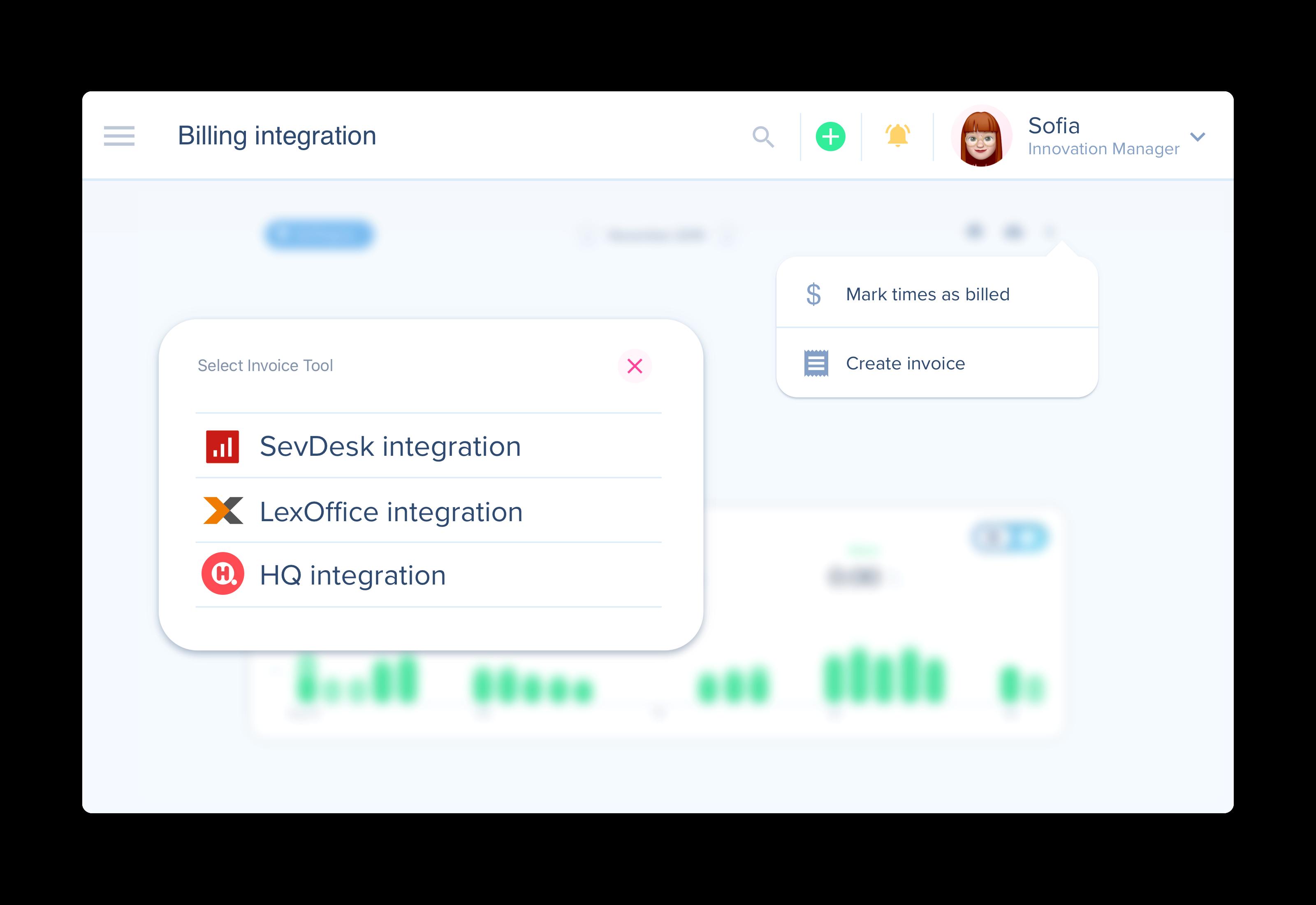 awork billing-tool integration