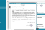 Elise ECM screenshot: information electronic signature
