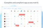 Blissfully screenshot: Blissfully app access matrix