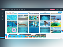 Promo.com Software - Unleash your creativity by using multiple clips in your video. You can add your own videos and photos for the perfect customized video.