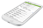 WorkWave Route Manager screenshot: Send notifications on mobile