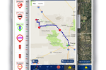 Rhino Fleet Tracking screenshot: Never lose sight of vehicles with GPS tracking
