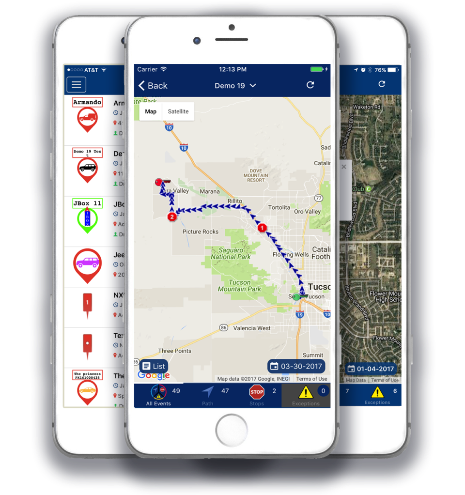 Never lose sight of vehicles with GPS tracking