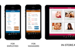 ZENOTI screenshot: Create different access portals for customers, employees and managers