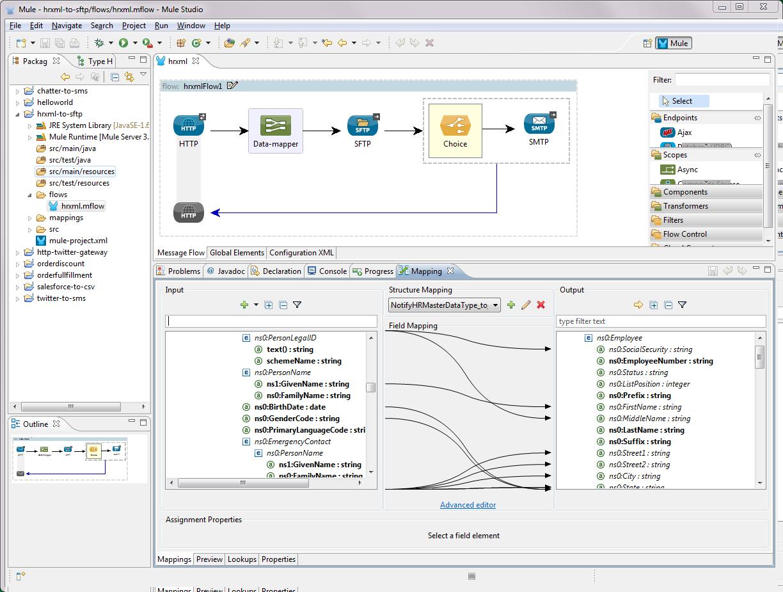 Mule ESB Software - Mulesoft ESB studio for SaaS