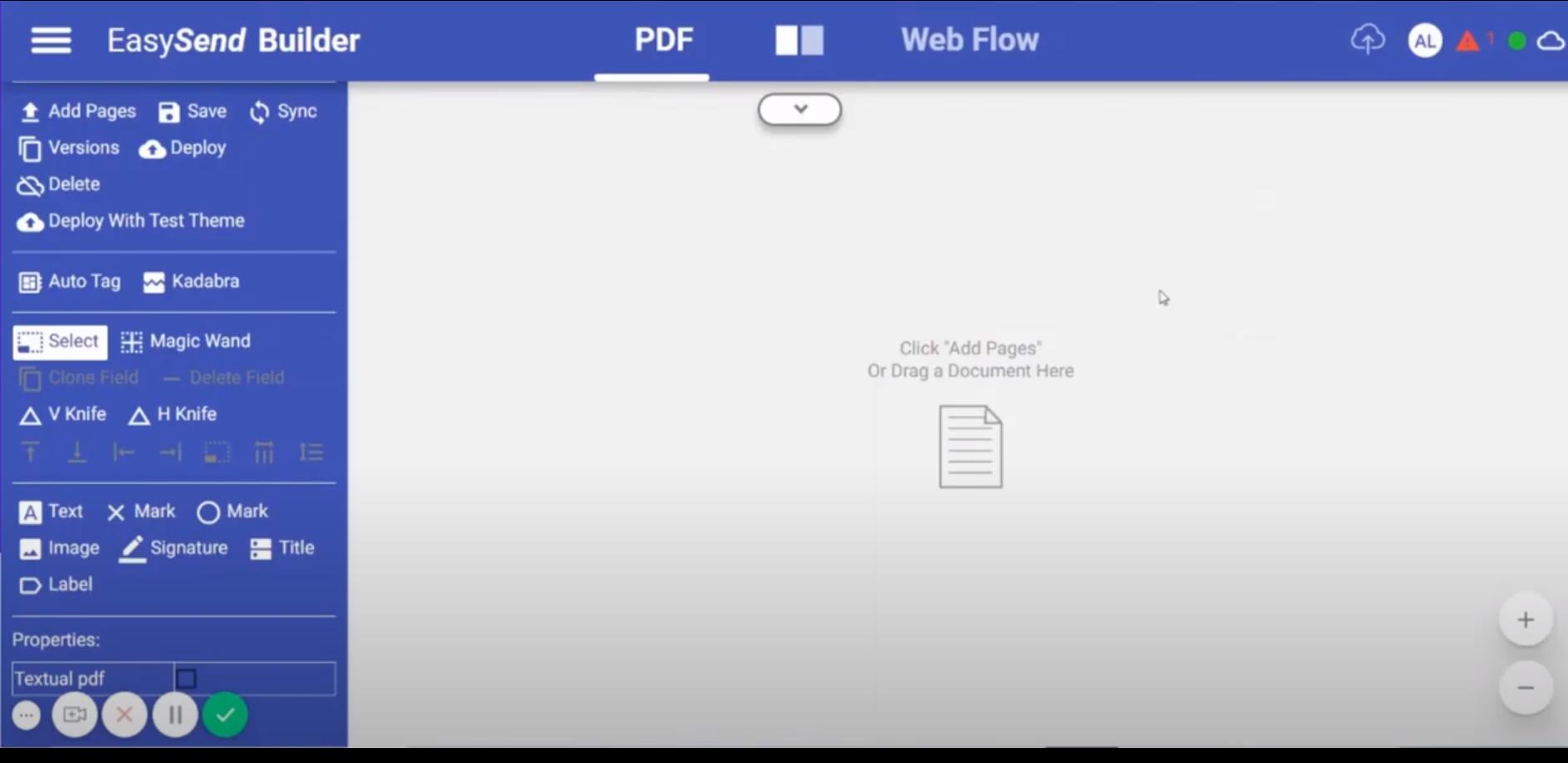 EasySend webflow