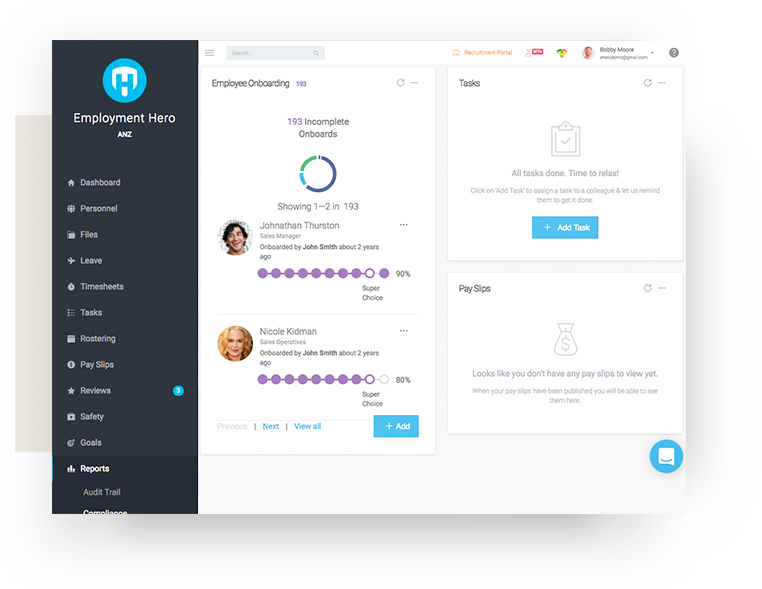 Tools for employee onboarding