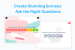 Zonka Feedback screenshot: Create Stunning Surveys, Ask the Right Questions
