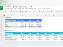 Google Sheets Software - 1