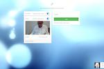 Capture d'écran pour PeekTime : Invite a guest to a videoconference with PeekTime