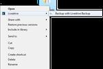 Livedrive screenshot: