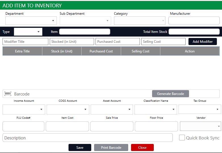 Club Caddie Software - Club Caddie add item
