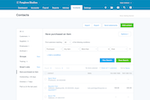 Xero Screenshot: Xero Contacts
