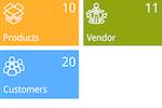 Deskera CRM screenshot: Dashboard