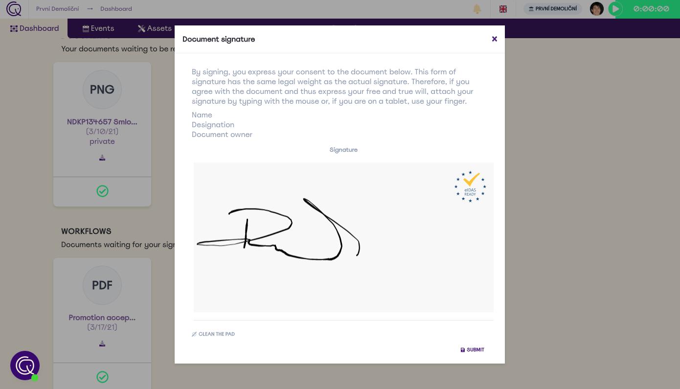 Document management (eIDAS ready)