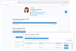 Vincere screenshot: Candidate Portal is offered as part of Vincere Engage (3-in-1 website stack: Job portal + Candidate portal + Client portal)