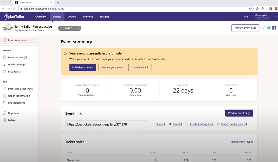 Ticket Tailor Software - 4