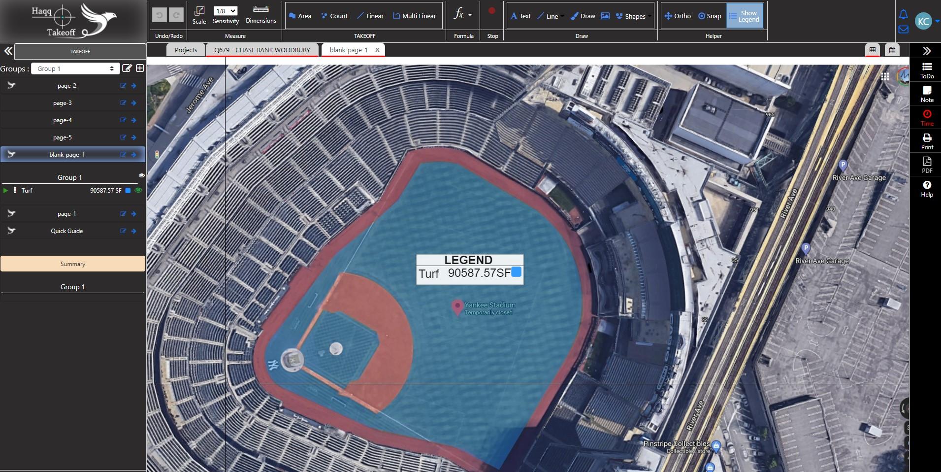 Haqq Takeoff Google Maps