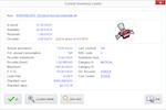 SpendMap screenshot: INVENTORY CONTROL