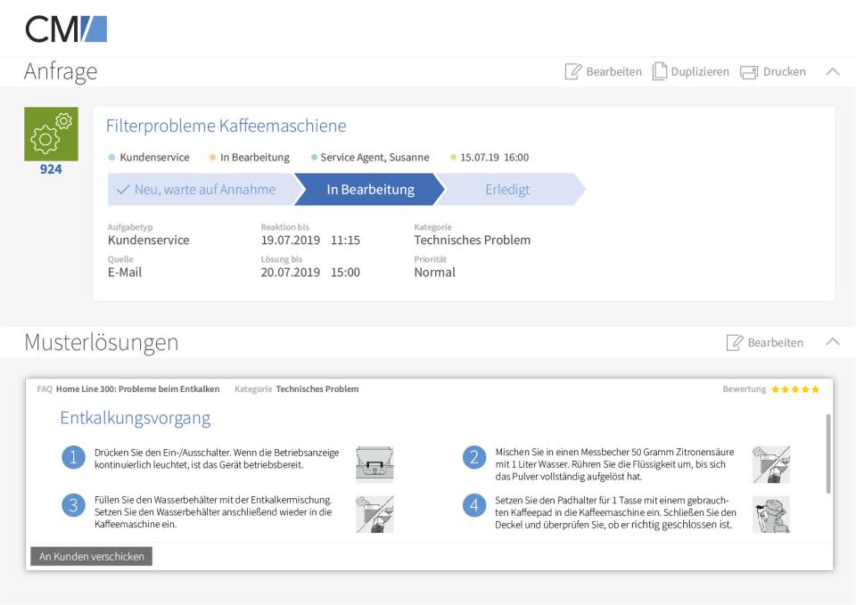 ConSol CM/Customer Service Software - 2
