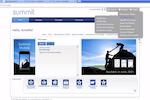 Summit Dpath screenshot: Summit users's homepage