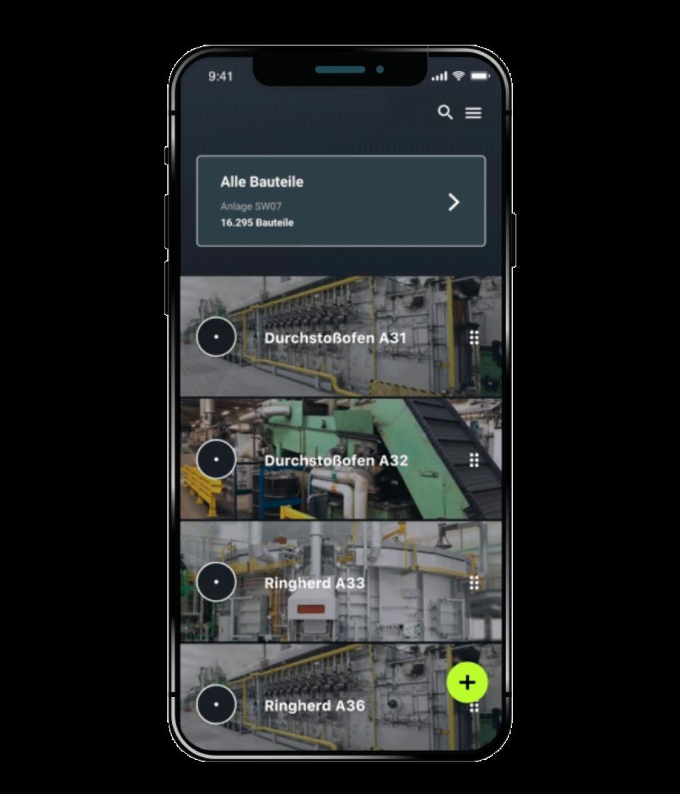 Partium mobile application